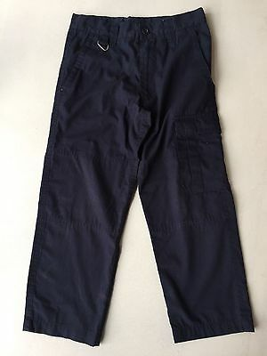Scouts / Cubs Long Navy Blue Trousers Size 7/8