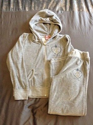Girls Juicy Couture Tracksuit Age 10