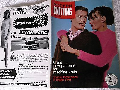 MODERN KNITTING (A KNITMASTER PUBLICATION for MACHINE KNITTING) MARCH 1968