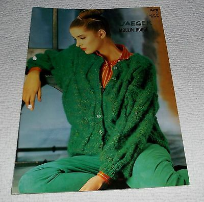 JAEGER KNITTING PATTERN No. 5476 MOULIN ROUGE