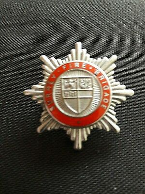 Surrey Fire Brigade cap badge