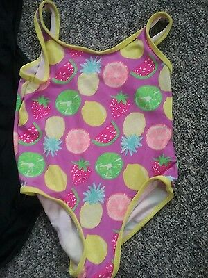 Girls  swimsuits age 4/5 years job lot.x 3 items.