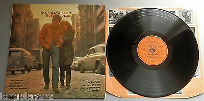 Bob Dylan - The Freewheelin' Bob Dylan UK CBS 1969 Stereo LP EJ Day Cover