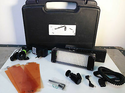 LITEPANELS LED Light Miniplus camera light with filters, power suply, 1 battery
