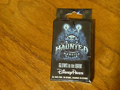Disney Trading Pins  107414 Haunted Mansion Glow In The Dark Mystery Set
