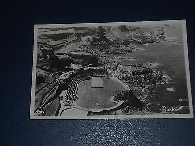 Real Photo Postcard Dunbar Swimming Pool From The Air