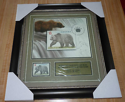 Rare Collection Frame from Canada Post Happy Retirement ! Heureuse Retraite !