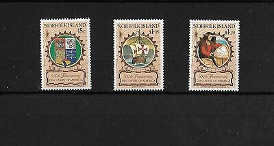 Norfolk Island 1992 Colombus, Mnh, Sg525/7