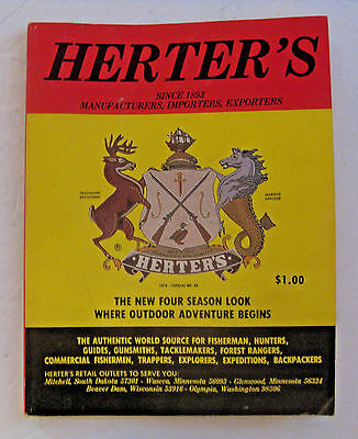Vintage 1978 #88 Herter's Hunting Fishing Trapping Archery Decoy Sports Catalog