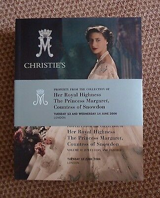 Christies Auction Catalogues For The Property of HRH Princess Margaret