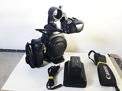 CANON EOS-C100 EF EOS C100 HD camcorder with accessories - 2 months warranty