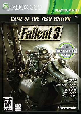 Fallout 3: Game of the Year Edition, New Video Games