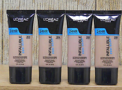 L'Oreal Infallible Pro-Glow Foundation  (Choose Your Color)  (New)