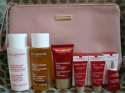 Clarins Super Restorative Day & Night Cream Gift Set Bag