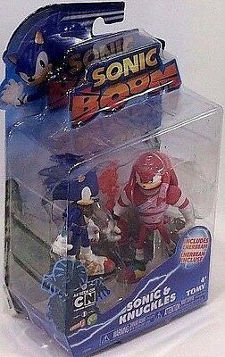 Sonic Boom 2 Pack Plastic Figures - Sonic and Knuckles
