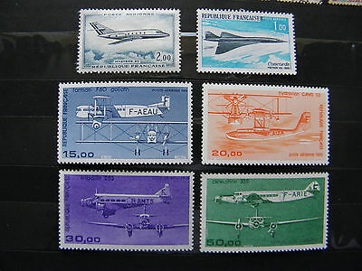 LOT TIMBRES  POSTE AERIENNE france - NEUF Sans trace