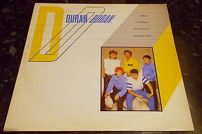 """Duran Duran - Is There Something I Should Know 12"""" Vinyl Single 1983"""