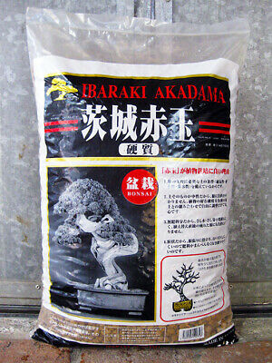 Akadama hard quality Ibaraki 5/10 mm (10 kg - 14 lt), substrato per bonsai