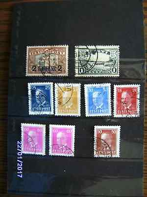 Briefmarken LOT Estland