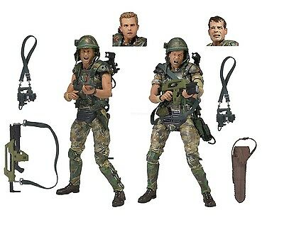 """Aliens - 7"""" Scale Action Figures - Colonial Marines Hicks & Hudson 2-Pack - NECA"""