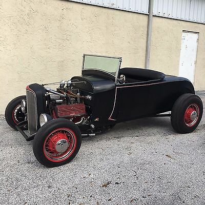 1931 Ford Model A  1931 Ford Model A Roadster Rat Rod Flathead Hot Rod Thickstun Intake