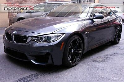 2015 BMW M4 Coupe M-DCT Automatic 2015 Pre-Owned Turbo 3L I6 24V Automatic RWD Coupe Premium Leather Dual Clutch