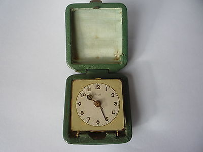 Vintage Kienzle FOREIGN Travel Alarm Clock - Working
