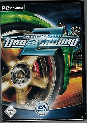 @ Need For Speed: Underground 2 - PC - In Original DVD Hülle Deutsch