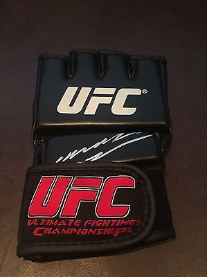 Anderson Silva Signed UFC Fighting Glove