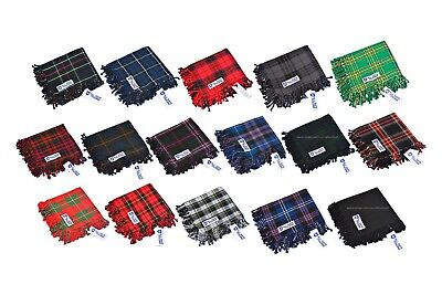 Scottish Men's Kilt Tartan Fly Plaid - 5Tartans