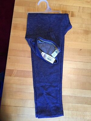 Old Navy Girls L (10-12) Leggings Blue.  New With Tags
