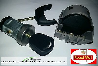 FORD TRANSIT MK7 IGNITION SWITCH & BARREL SET WITH 2 KEYS 2006 to 2017