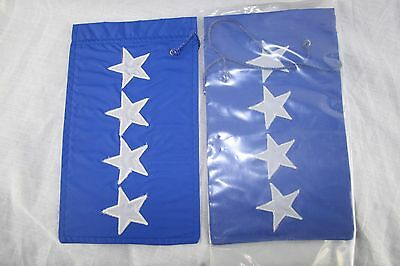 """US AIR FORCE General USAF Nylon Bunting Position Rank 10"""" x 6"""""""