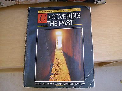 History in Context 1 UNCOVERING THE PAST 1989 textbook, good con vintage