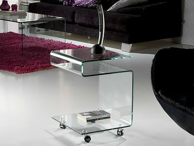 Schuller 552522 Glass Mesa Auxiliar Transparente table side table crystal deco