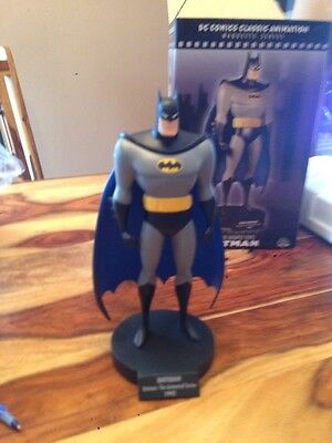 Batman Classic Animated Series Maquette Statue D.C. Direst  New Collectible