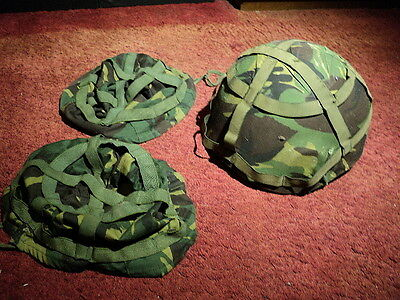 British Army Combat Helmet and Covers