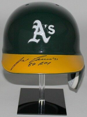 Jose Canseco Signed Baseball MLB Helmet