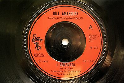 """Bill Amesbury - I Remember / Lucky Day PX 220  7"""" Vinyl Single   Country"""