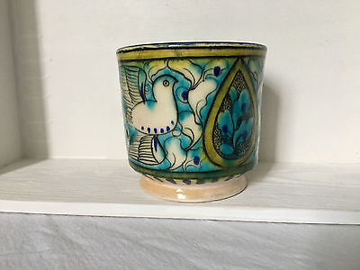 Persian hand painted pottery Mug