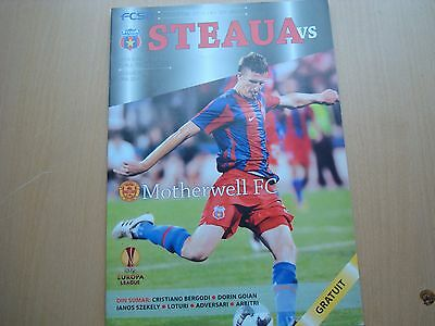 Steaua Bucharest V Motherwell