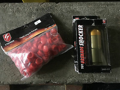 Grenade CO2 + Sachet embout  Airsoft / paintball