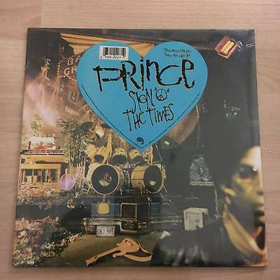 """Prince """"sign Of The Times"""" Rare 2 Lp Made In Italy - Mint"""