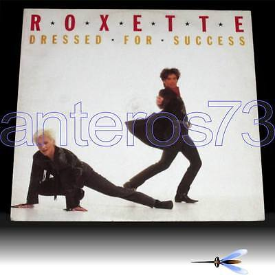 """Roxette """"dressed For Success"""" Rare 12"""" Mix Made In Italy - Mint"""