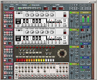 Steinberg ReBirth RB-338 Version 2.0 Software-Synthesizer CD-ROM