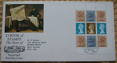 £5 Book of Stamps, The Story of the Times First Day Cover