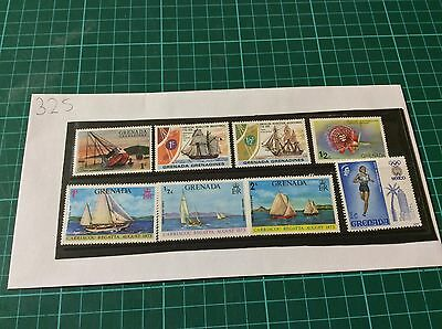 Mixed Collection of 16 x Grenada Unused Stamps (325)
