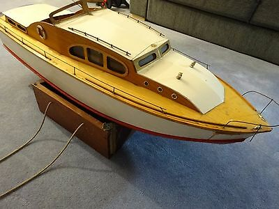 Sea Queen, Scale RC Model Boat, Renovation project, plumbed for IC engine