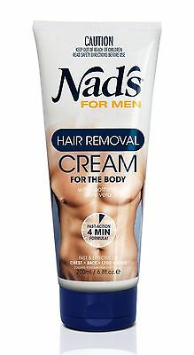 Nad's For Men Hair Removal Cream Extra Strong & Fast Working 200 Ml
