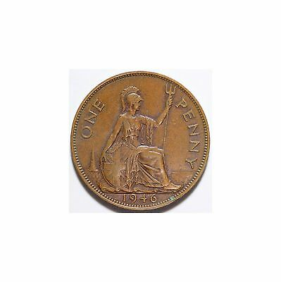 1946 George Vi Penny ,better Grade ,a84, One Penny ,see Photos